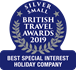 British Travel Awards - Silver