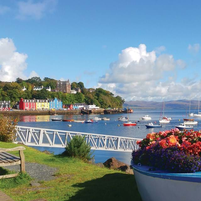 The colourful town of Tobermory