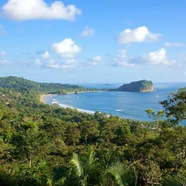 The Bay and National Park of Manuel Antonio