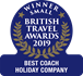 British Travel Awards - Gold