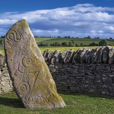 Pictish Stone,  Aberlemno